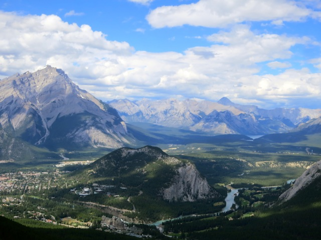 Nice view of Banff, Canada. Click through for a travel guide.