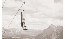 Mt Norquay channeling Marilyn Monroe