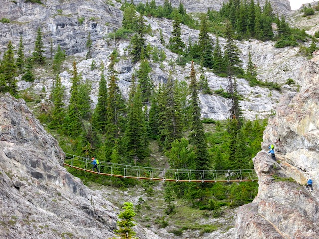 Via Ferrata at Mount Norquay in Banff Alberta