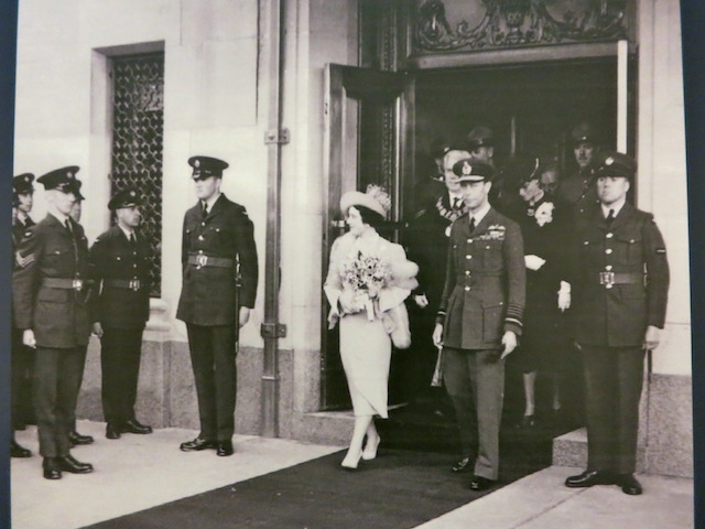 The Queen Mother at the Fairmont Hotel Vancouver in 1939