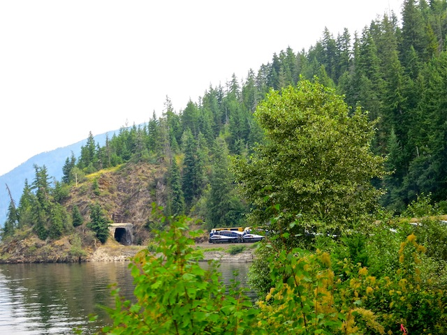 Rocky Mountaineer scenic train routes in Canada