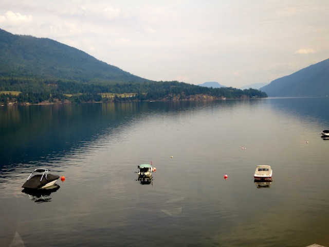 Rocky Mountaineer scenic train routes include Shuswap Lake