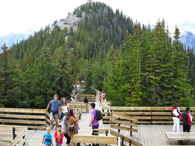 Sulphur Mountain in Banff, Canada