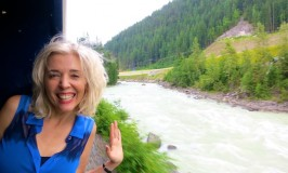 How Not to Meet People on the Rocky Mountaineer