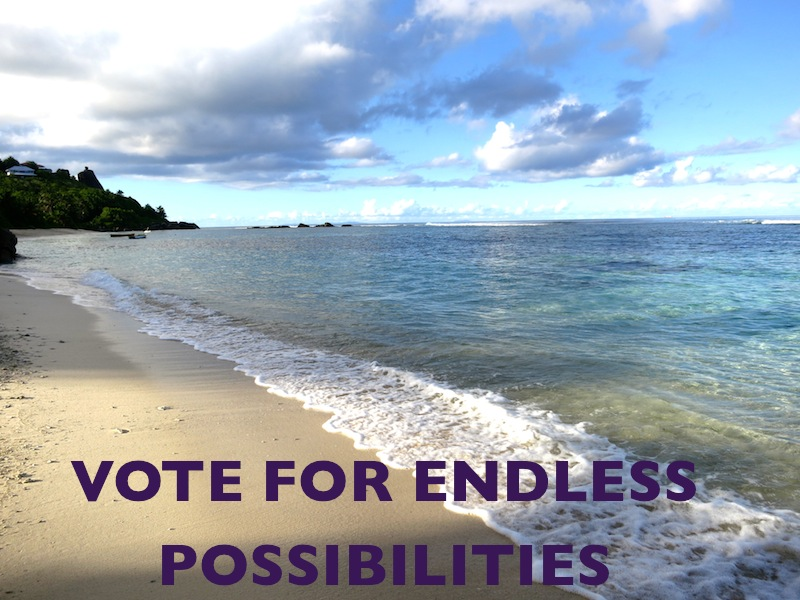 Travel means endless possibilities
