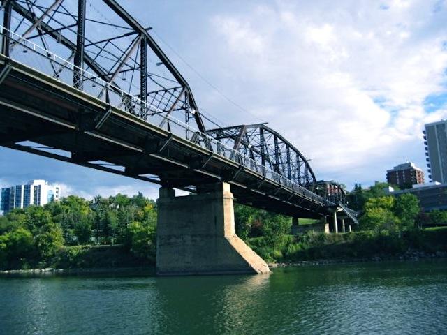 Bridge in Saskatoon Saskatchewan
