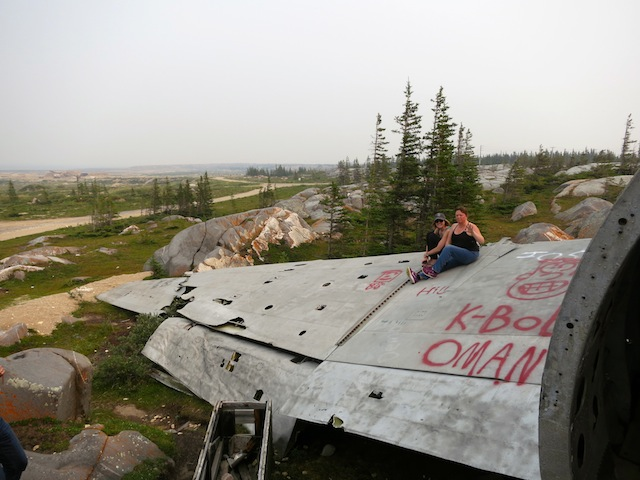 Experience Churchill wild with Miss Piggy plane wreck in Churchill Manitoba