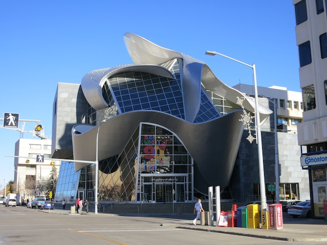 Edmonton art trip, the Art Gallery of Alberta