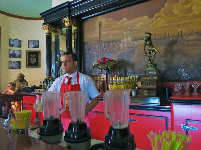 Bar in Havana El Floridita