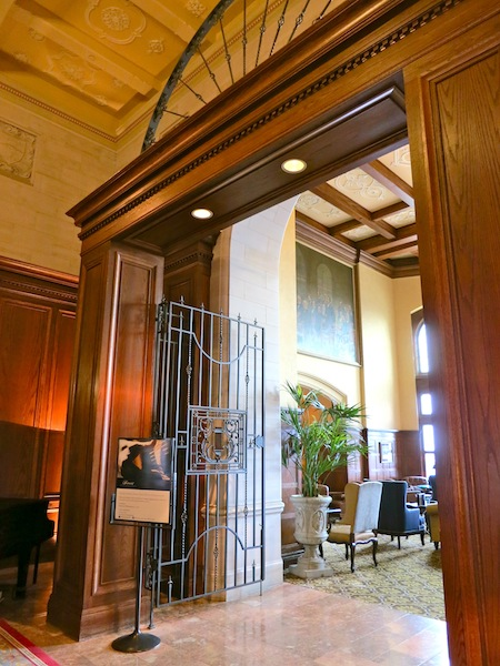 Fairmont Hotel Macdonald lobby Edmonton