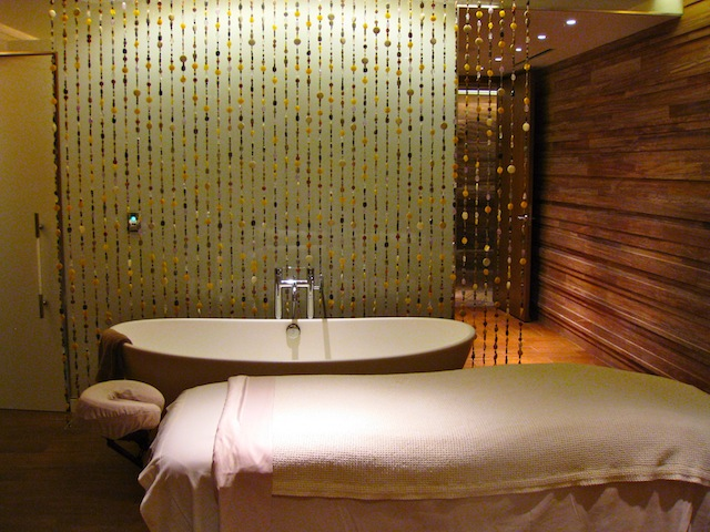 The spa and spa travel to Sahra Spa in Las Vegas