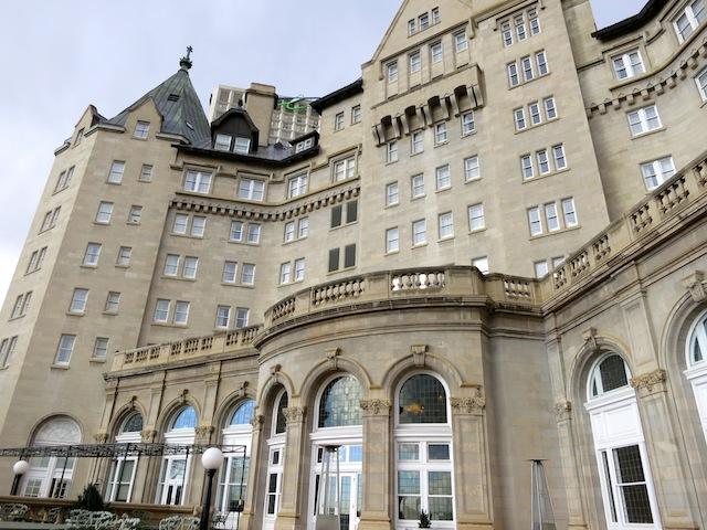 Fairmont Hotel Macdonald exterior Edmonton Alberta