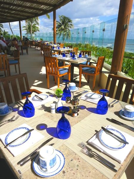 Culinary tourism fine dining Azul restaurant Grand Velas
