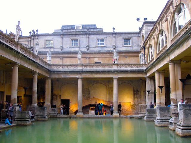 Best European destinations Bath spa town