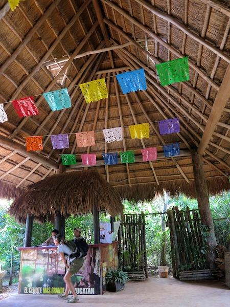 Biggest cenote,  Mexico adventure in the Yucatan