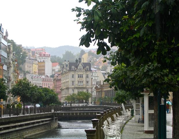Top European destinations Karlovy Vary Czech spa town