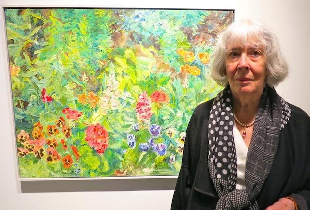 Edmonton art gallery trip paintings by Dorothy Knowles