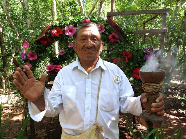 Mayan Shaman Cenote Maya Mexico Adventure