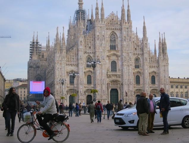 Top European destinations Duomo Milan