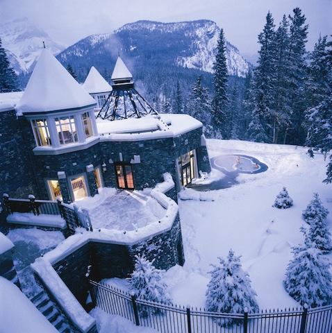 Best Winter Spa Resorts Fairmont Banff Springs Hotel
