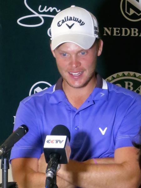 Danny Willett Pro Golfer Sun City Nedbank Golf Challenge