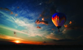 Hot air balloon Pilanesberg Game Reserve Sun City