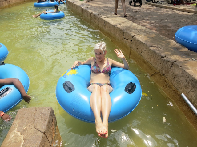 Valley of Waves Lazy River Sun City Africa