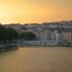 A travel blogger's year in review. Through sunsets. Lyon