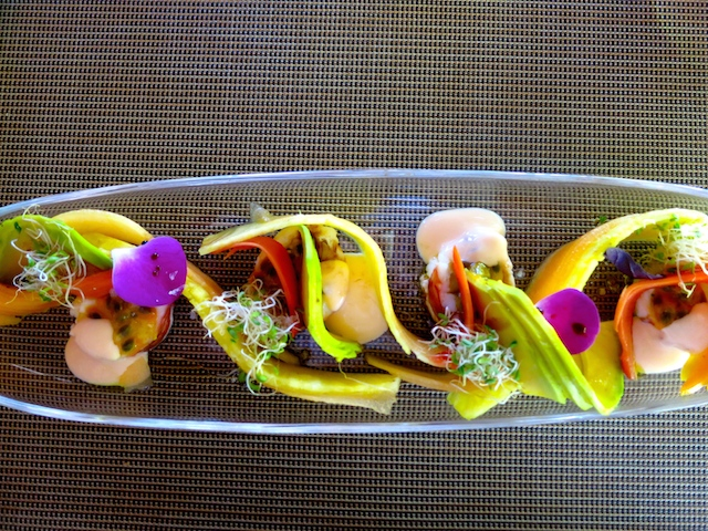 Fresh cuisine at Paradisus Punta Cana and Paradisus Palma Real, Dominican Republic