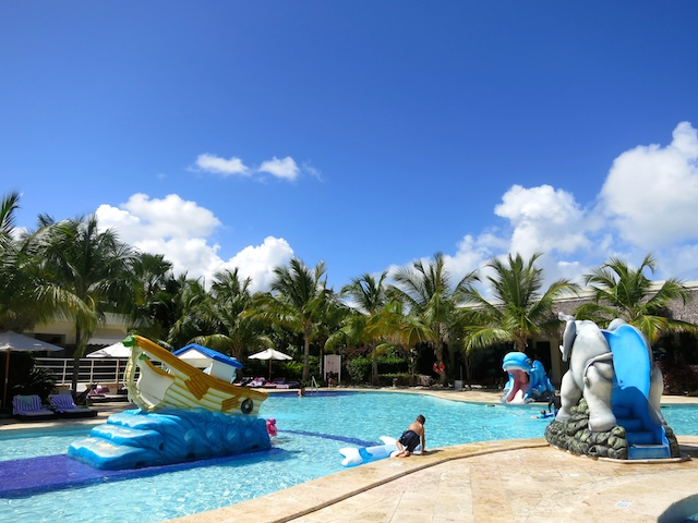 Paradisus Punta Cana and Paradisus Palma Real have kids' pools
