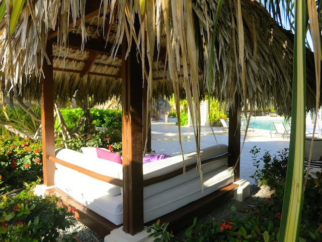 Bali Bed at Paradisus Palma Real in Punta Cana, a tropical island luxury hotel in the Caribbean