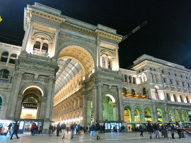 Cities in Italy, things to do in Milan, Galleria Vittorio Emanuelle II