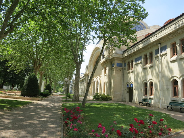 Vichy, France, a famous French spa town