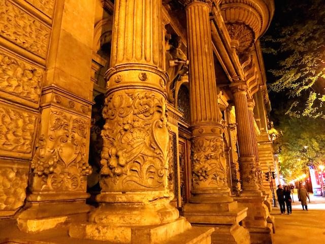 Air Transat Vacations Europe Budapest Hungary Andrassy Avenue at Night