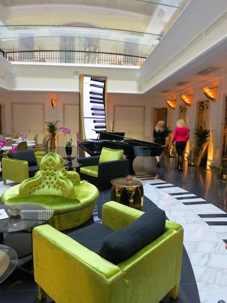 Aria Hotel Budapest, a musical medley