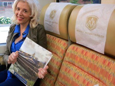 Blog Ambassador Wandering Carol Rocky Mountaineer