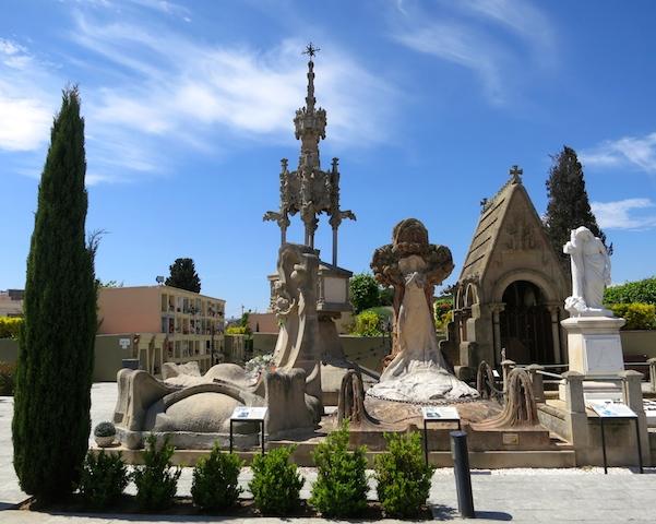 Catalan Modernism, Lloret de Mar cemetery