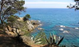 One day in Lloret de Mar, Costa Brava, Spain