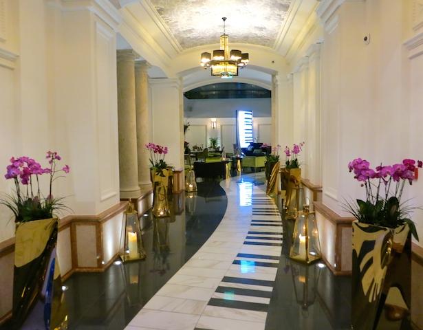 Liszt in Budapest, Aria Hotel Budapest lobby