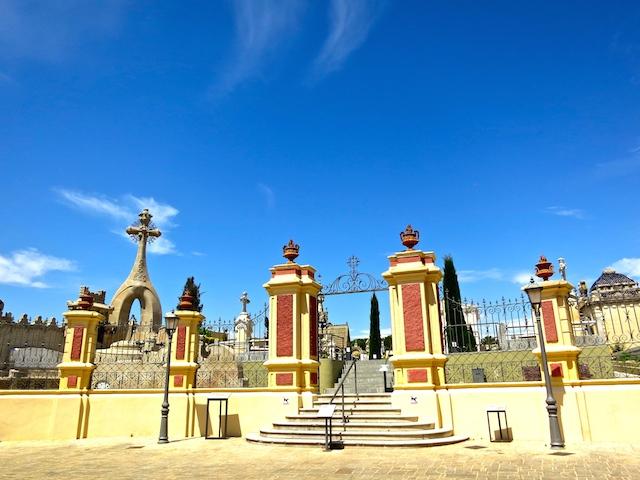 Tombstone tourism, Modernist Cemetery Lloret de Mar Spain