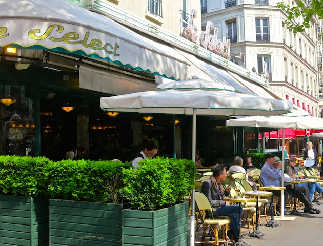 Historic Montparnasse cafes, Le Select, Paris