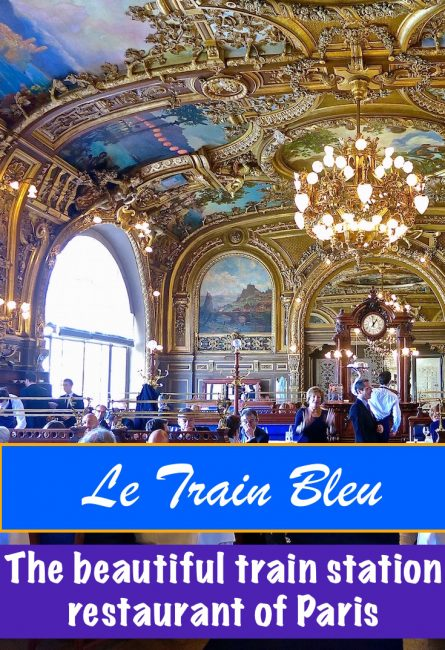 Célèbre Le Train Bleu, Paris: the world's best train station restaurant MP71