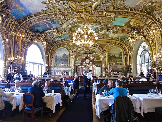 Le train bleu paris the world s best station