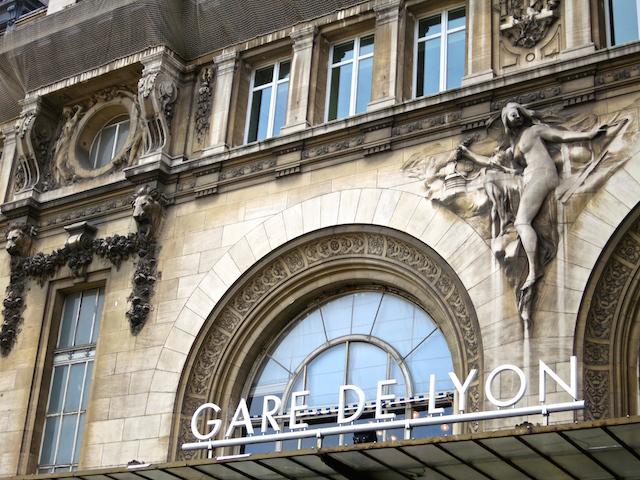 Paris to Barcelona train, Gare de Lyon