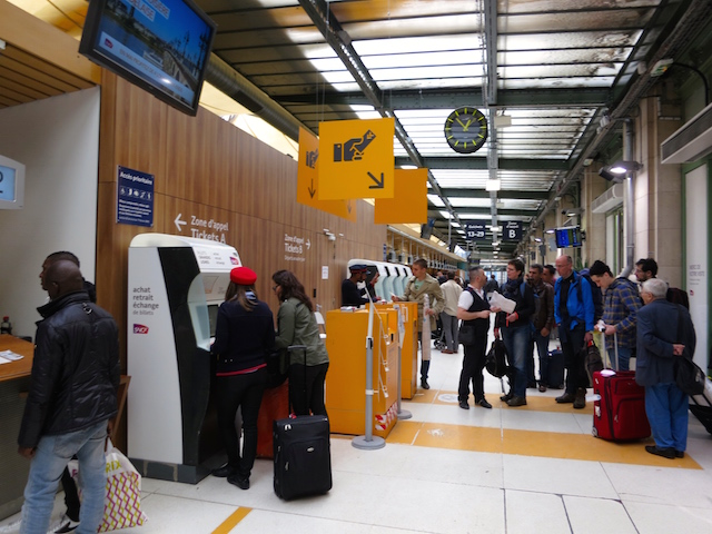 Paris to barcelona train adventure at gare de lyon - Bureau change gare de lyon ...