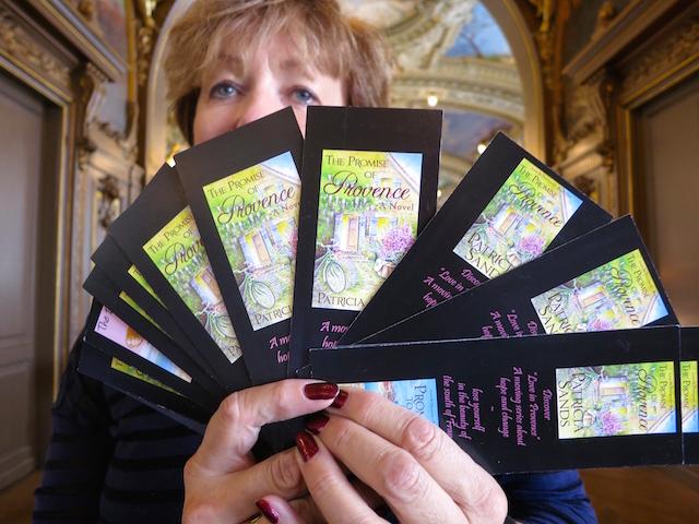 Patricia Sands at Le Train Bleu, Gare de Lyon Paris