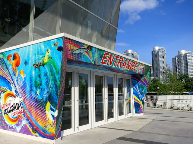 How to get to Ripley's Aquarium Toronto, Canada