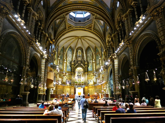 Sacred places to visit, Basilica Montserrat, Spain