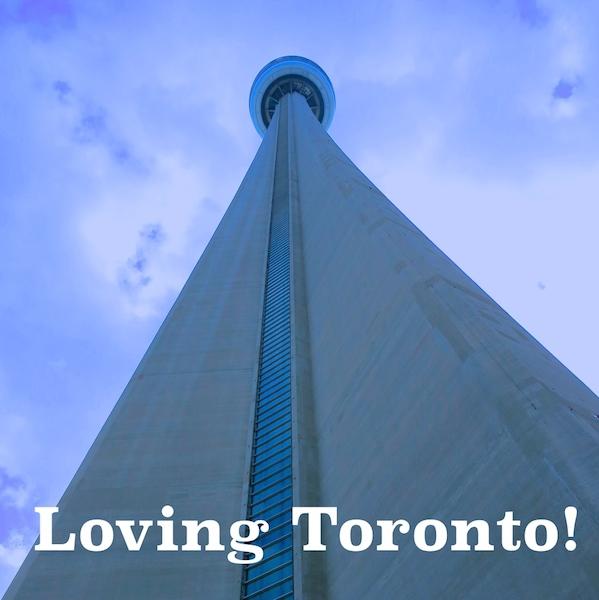 Canada travel CN Tower Toronto WanderingCarol.com