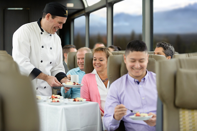 Gourmet food, Rocky Mountaineer Luxury Train Trip Contest